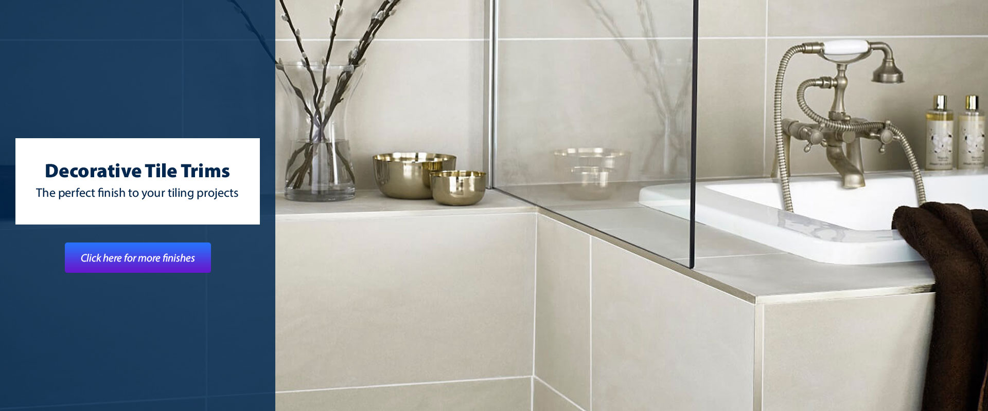 decorative tile trim